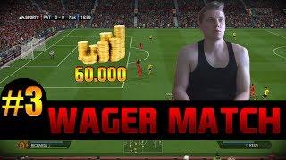 Fifa 14   WAGER MATCH #3   60.000 coins vs. Subscriber + Facecam & more   PatrickHDxGaming