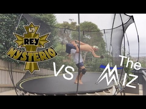 Rey Mysterio vs The Miz wwe championship