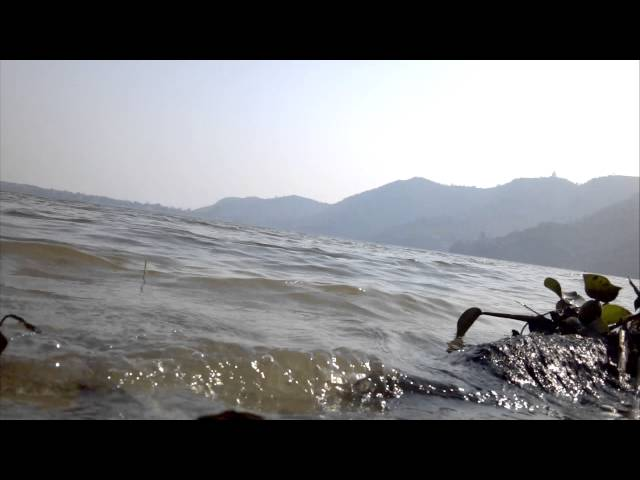 Best tides ever seen in PHEWA LAKE OF NEPAL.IXXX Travel Video