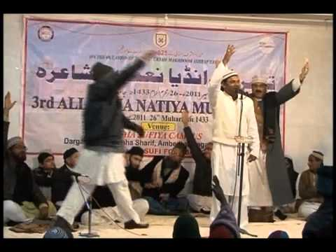7.Urs Makhdoom Ashraf -3rd All India Natia Mushairah (Altaf Zia 1) 22nd Dec 11 *Must Watch*