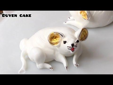 Cách làm con Chuột #2 - How to make the Redeemer # 2 - Duyen Cake | Foci