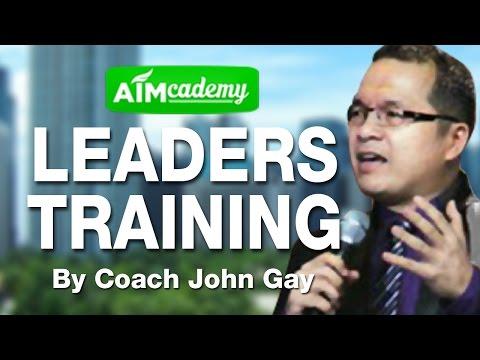 Leaders Training by Coach John Gay