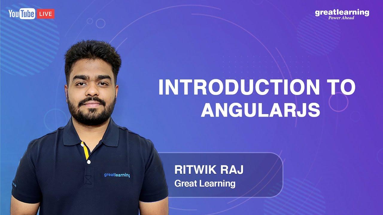 Introduction to AngularJS   AngularJS Tutorials for beginners