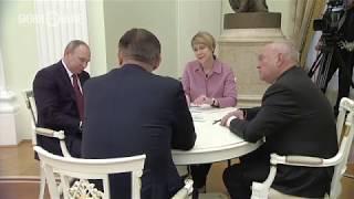 Когогин рассказал Путину о необходимости привлечь в Челны 100 тыс. рабочих
