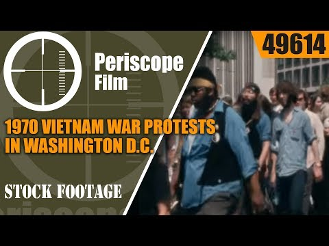 1970 VIETNAM WAR PROTESTS IN WASHINGTON D.C.  MAY 9, 1970 MARCH ON WHITE HOUSE 49614
