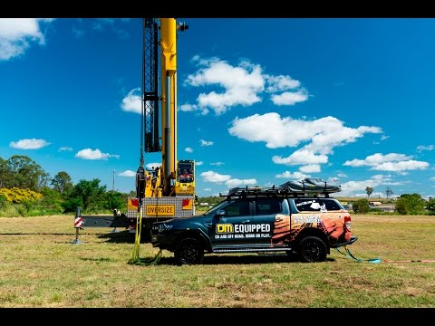 TJM Tested To The Extreme - Crane Lift Ford Ranger