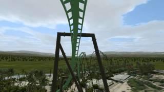 dinosaur flying coaster universal studios japan 2016 onride nolimits 2