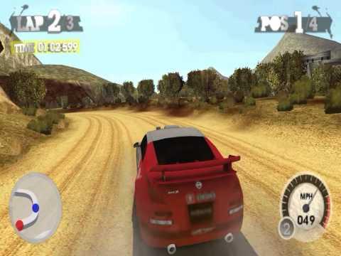 Colin McRae Dirt 2 PSP Gameplay