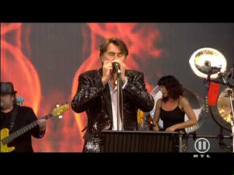 Bryan Ferry Let's Stick Together Live @ Concert For Dianar