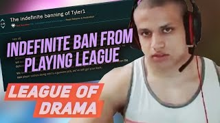 Tyler1 indefinite ban from playing League of Legends - Full Story Broken down #LeagueOfDrama