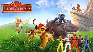 Disney's The Lion Guard (Power Rangers Jungle Fury Style)