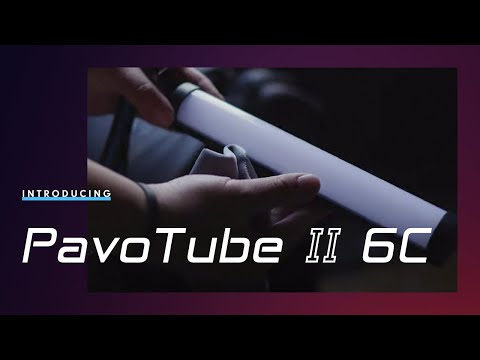 Introducing the Pavotube II 6C – 10 inch Battery-Powered LED Tube Light with Magnets