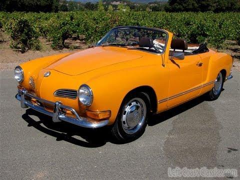 1971 Karmann Ghia Convertible for Sale in California - YouTube