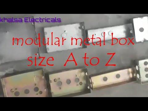 Modular House Wiring Modular Metal Box And Frame With Seat Information Ghar Ki Wiring Material Youtube