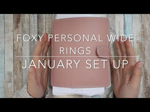 FOXY FIX PERSONAL WIDE RINGS | JANUARY 2018 SET-UP | FLIP THROUGH