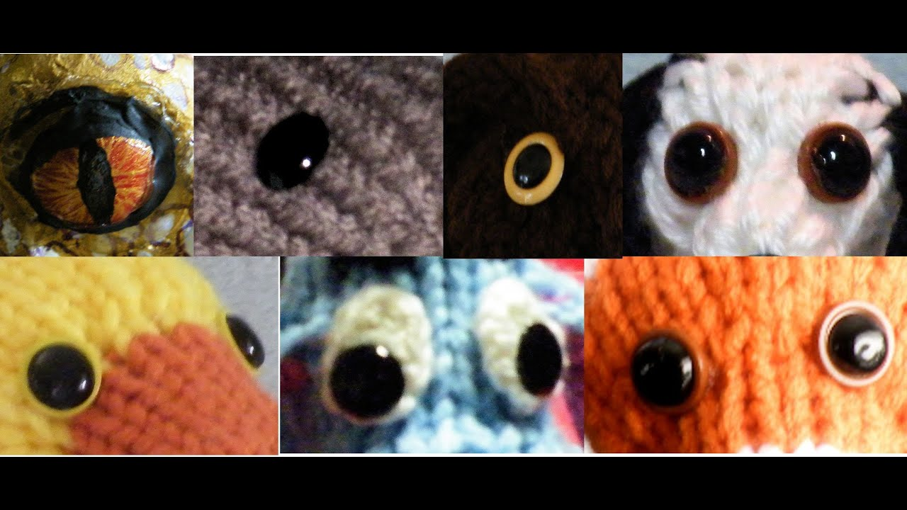 Diy Eyes For Stuffed Animals And Crafts