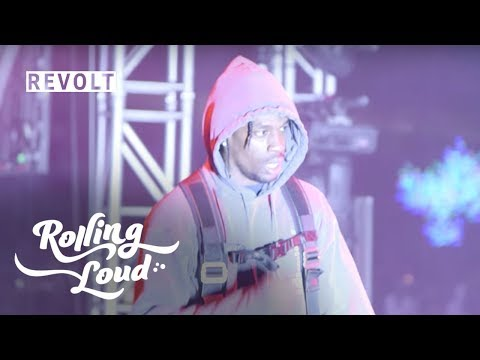 Travis Scott Demands for the Protection of Lil B After Altercation - Rolling Loud Festival -Bay Area