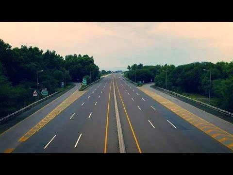 CPEC Route Pakistan 2018 | Motorways of Pakistan | M-2 | Rest Area Day and Night View