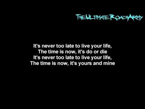 Papa Roach - Do Or Die { Lyrics on screen } HD