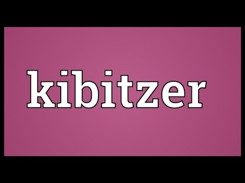 Header of kibitzer