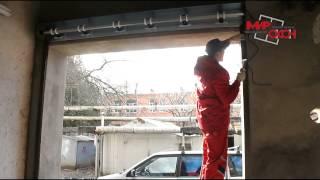 Монтаж 2х гаражных роллет профиль AR555N(Компания «Мир Окон» - это собственное высокотехнологичное производство пластиковых окон из ПВХ. Компани..., 2013-12-05T10:17:58.000Z)