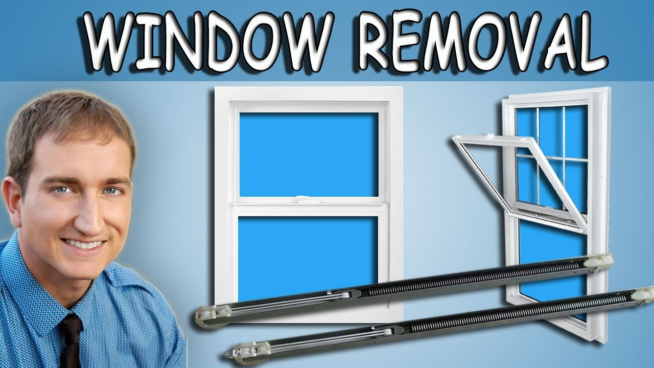 How To Remove Replace And Install A Single Hung Window