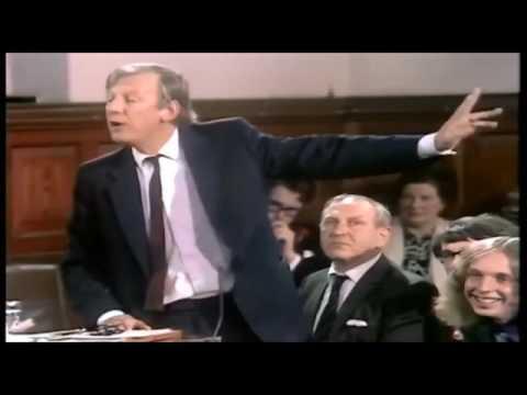 Brexit 1975 MP Peter Shore attacks Project Fear
