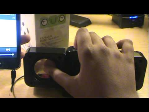 Mini Portable Foldable Speakers (Unboxing/Review) For IPod,iPhone And MP3 Players