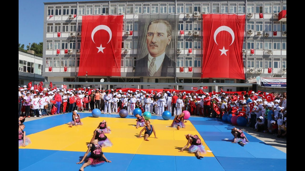 Adıyaman'da 19 Mayıs Kutlamaları Coşkuyla Kutlandı