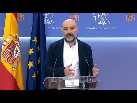 Néstor Rego explica o posicionamento do BNG de cara á votación dos orzamentos do Estado