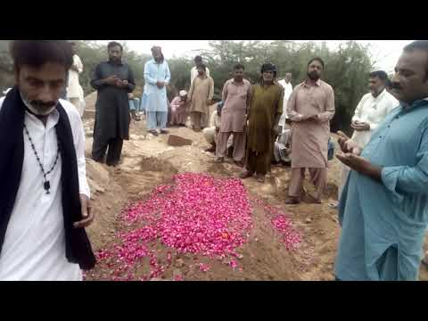 Syed saqlain shah Shirazi burial and namaz e janaza i n ancestral graveyard Abdullah Shiraxi a(6)