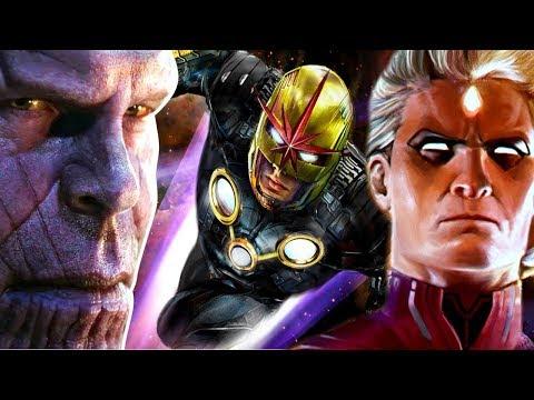 Adam Warlock And Nova In Avengers Endgame - Theory Thursday