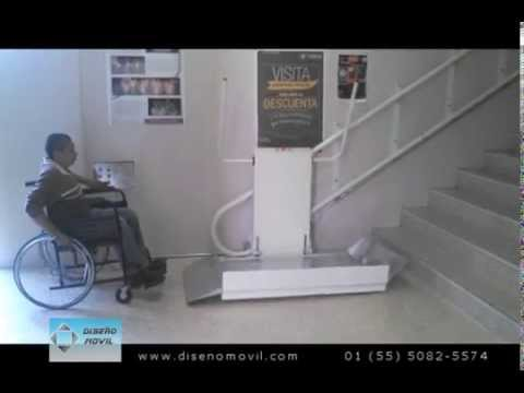 Elevador plataforma salvaescaleras ascensor para silla for Plataforma para silla de ruedas