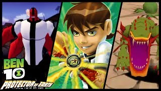 Ben 10: Protector of Earth Walkthrough Part 6 (Wii, PS2, PSP) Level 7 : Lumber Mill