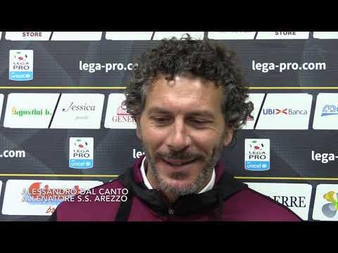 Lunedì c'è Arezzo-Carrarese, intervista a Dal Canto