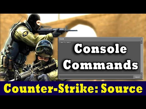 CS Source Console Commands For Better Gameplay