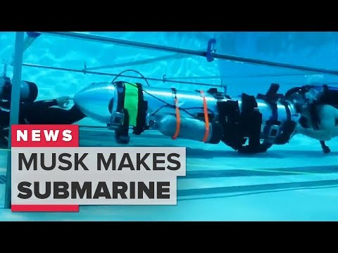Thai cave rescue: Elon Musk rescue submarine explained (CNET News)