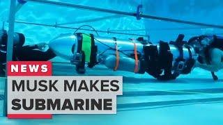 Thai cave rescue: Elon Musk rescue submarine explained (CNET News) thumbnail