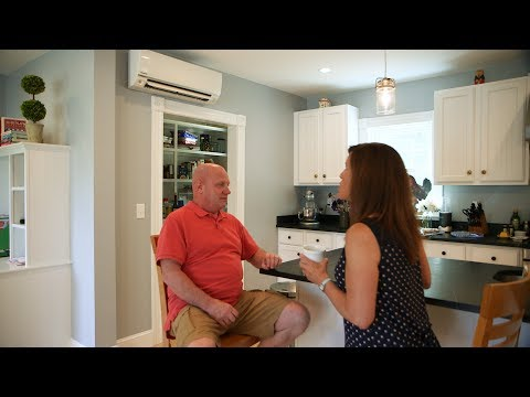 Ductless Heating and Air Conditioning System