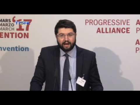 Şandeke PDKÎ di kongireya Progressive Alliance  de beşdarî kir