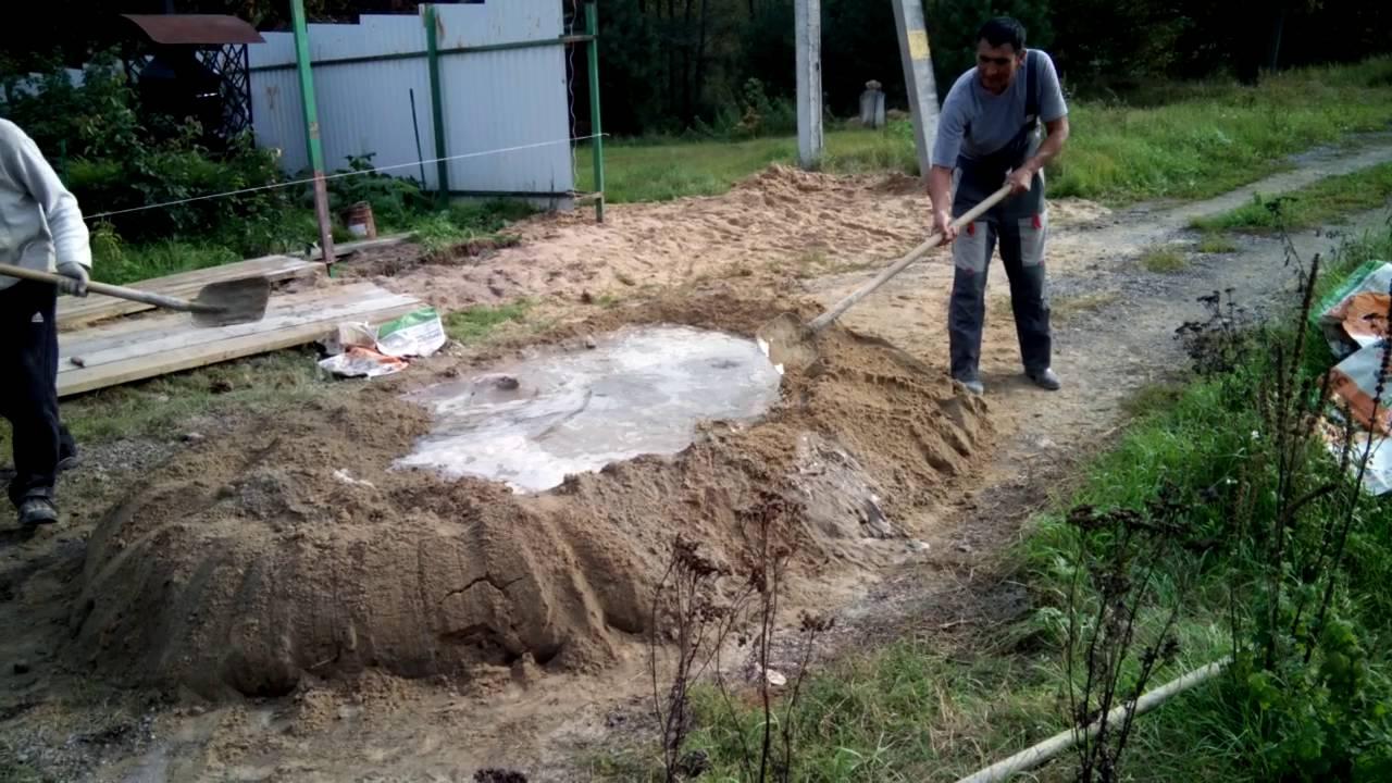 Кубатурник бетона подбор состава раствора строительного