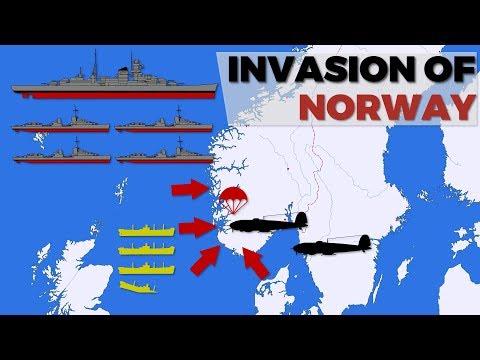 Invasion of Norway & Denmark  Operation Weserübung