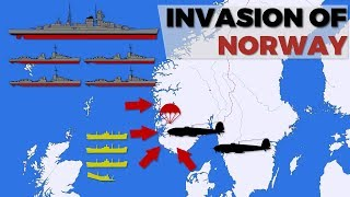 Invasion of Norway & Denmark - Operation Weserübung
