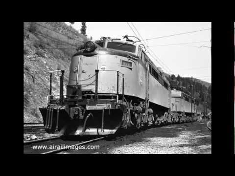 Little Joe electrics on the Milwaukee Railroad in still photos, May 1973