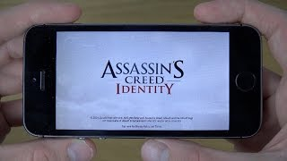 Assassins Creed Identity iPhone 5S 4K Gameplay Review