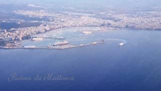 Beautiful Flight from Palma de Mallorca to Cologne in 4K
