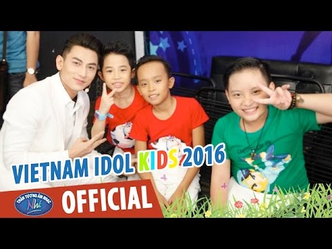 VIETNAM IDOL KIDS - THẦN TƯỢNG ÂM NHẠC NHÍ 2016 - HẬU TRƯỜNG VÒNG STUDIO - TOP 6 NỮ
