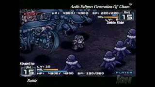 Aedis Eclipse ~Generation of Chaos~ Sony PSP