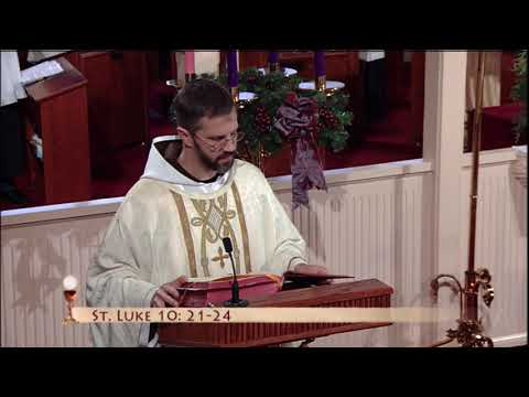 Daily Catholic Mass - 2019-12-03 - Fr. Paschal