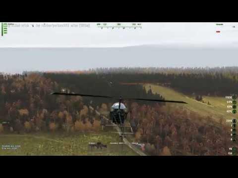 Arma 2: DayZ Mod: Top Pookkings on Epoch555 (UH-13B Pook rekkin montage)